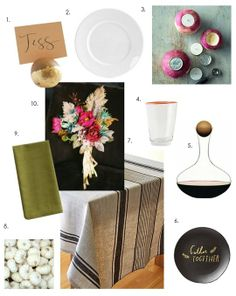 Organic Modern Thanksgiving Tabletop Inspiration