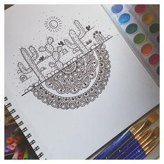 31 Ideas for doodle art ideas draw zentangle patterns Doodle Drawings, Doodle Art, Flower Drawings, Drawing Flowers, Mandala Simple, Dibujos Zentangle Art, Mandala Doodle, Easy Mandala Drawing, Tangle Doodle