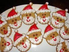 Santa-cookies