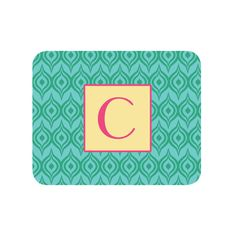 Ikat Personalized Mouse Pad