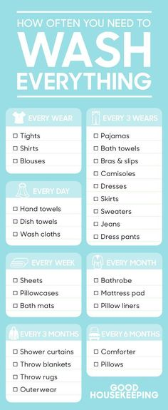 These 10 graphs will make you a pro at cleaning anything. They will help you figure out anything and everything when it comes to cleaning: from how often to clean things to how to remove stains to any other brilliant cleaning tips and tricks. Follow the cleaning and organization schedule and checklist in this article and your home will be spotless in no time.  #cleaning #cleaningtips #cleaninghacks #organization #organizing #organize #laundry #laundrytips #laundryhacks