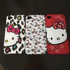 Selling this Hello kitty iPhone 4s cases in my Poshmark closet! My username is: kittytifftiff. #shopmycloset #poshmark #fashion #shopping #style #forsale #Other