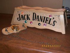 Jack Daniels Light. Pool Table ...