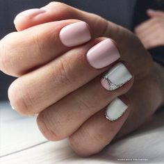 18 Pink and White Nails Designs for a Popular and Classic Mani Look ★ Beautiful Light Pink Nails for Classy Look Picture 4 ★ See more: http://glaminati.com/pink-and-white-nails/ #pinkwhitenails #pinknails