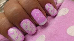Breast Cancer AWARENESS NAILS - Nail Art Gallery by NAILS Magazine