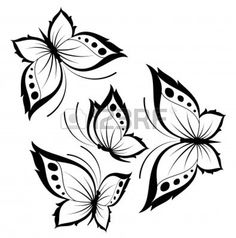 beautiful butterfly for a design Stock Photo - 7762977