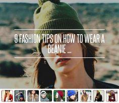 9 Fashion Tips on How to Wear a Beanie ... → Hair