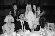 Riccardo Tisci Maria Carla Boscoso Donatella Versace Joan Small Naomi Campbell Nicki Minaj