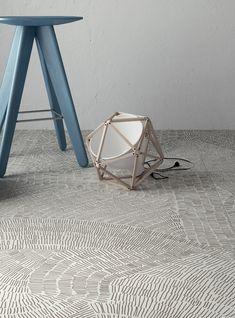 Ceramic materials floor #tiles FOSSIL by Ceramiche Refin | #design Kasia Zareba @ceramicherefin