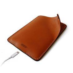 iPad Mini Handmade Leather Sleeve iPad Mini case by AtelierPall