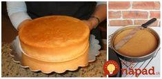 Mám pre vás rady, ktoré má vo svojej cukrárskej príučke zaznačené aj moja svokra a ktoré pri pečení korpusov extrémne užitočné. Kto ich vie, ten sa pečenia nemusí báť! Ja pečiem aj na svadby a Griddle Pan, Tiramisu, Pancakes, Deserts, Dessert Recipes, Food And Drink, Baking, Breakfast, Ethnic Recipes