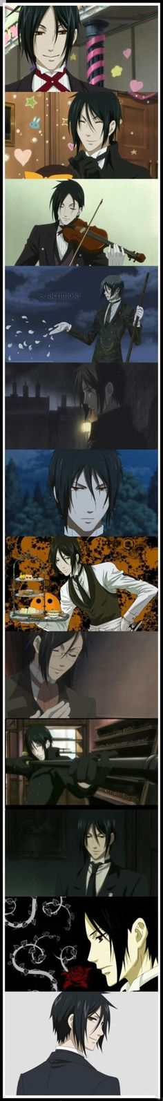 Black butler *pants* agghh my heart is slowly dying, but in a good way
