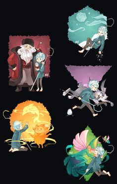 Rise of the Guardians (2012) - Fan Art - Comic #2 - [http://graphitedoll.tumblr.com/tagged/rise+of+the+guardians]