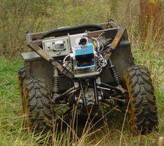 Choosing The Best Sensors For A Mobile Robot, Part One Learn Robotics, Mobile Robot, Educational Robots, Uk Tv Shows, Real Robots, Diy Go Kart, Robot Parts, Robotics Projects, Armored Truck