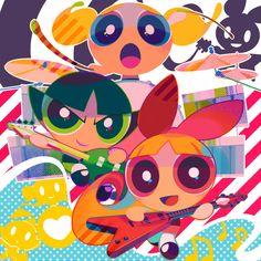 Powerpuff Girls by mintchoco
