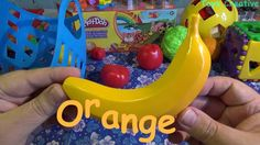 Learn colors with toy fruits | Fruit toys | Learn colors for kids