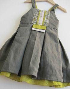 ALCYONE version robe, Grains de couture pour Enfants (Ivanne SOUFFLET), by Lilylazuli