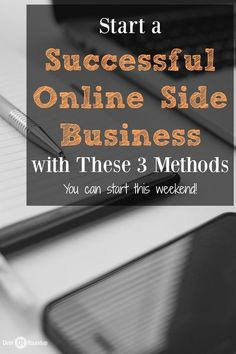 Everyone thinks building an online business is so complicated. It's really not! You can start running a business in just one weekend. Here are three methods to use when starting your business. They work and can be used by anyone. Now, go do it. DIY, Do It Yourself, #DIY