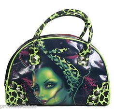 Charlie Bates Bowling Bag by Too Fast Classic Monster Movies, Classic Monsters, Beautiful Gifts, Beautiful Bags, Monster Squad, Bowling Bags, Psychobilly, Zombies, Handbag Accessories