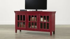 """Rojo Red 62"""" Media Console in TV Stands & Media Consoles 