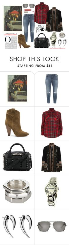 """""""Cool Looks"""" by virtudiaries ❤ liked on Polyvore featuring Silver Jeans Co., Étoile Isabel Marant, Alexander Wang, Open End, Gucci, Raymond Weil, Shaun Leane, Elizabeth and James and Ilia"""