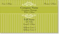 bakery cake Signature Business Cards