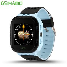 Lemado Q528 GPS Touch Screen Positioning Smart Watch Children SOS Call Location Finder Device Tracker Kid Safe Anti Lost Monitor