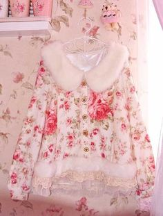 I saw this and thought how pretty it was. Not sure if it's for the bedroom or to actually wear outside. Love it though!