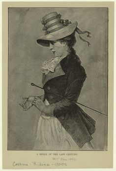 Costume -- Riding -- 1799 & Earlier