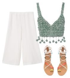 """""""Sin título #86"""" by anuscam on Polyvore featuring moda, MANGO y Rosie Assoulin"""