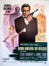 James Bond: * From Russia With Love * Sean Connery French Poster 1963 Sean Connery James Bond, Vintage Movies, Vintage Posters, Service Secret, Russian Landscape, Cinema Tv, James Bond Movies, Love Film, Film Movie