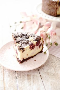 Kessy's Pink Sugar: Cherry Cheesecake oder Kirsch Zupfkuchen