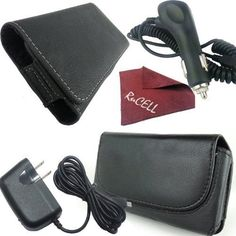 Introducing for Kyocera Torque Value Set  Qty of 2 Pouches  Leather Case Holster Pouch Car Charger Micro USB Charging Data Cable RuCell brand Suede cleaning Cloth. Great product and follow us for more updates!