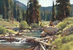 scott christensen paintings | My first forays into landscape oil sketches were made with these ...