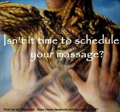 Isn't it time to schedule your massage?