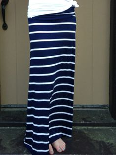 It's All Navy Baby Maxi-$34.50  Love this site's maxis! Great material and length for any height!