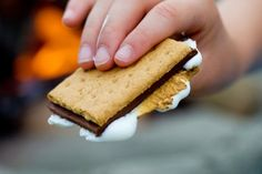 After a fun-filled day in San Diego, make sure to come down by the pool and have s'mores with us from Saturdays this summer at the Marriott Mission Valley! Camping Snacks, Go Camping, Marshmallow Roasting Sticks, Fire Pit Accessories, Shish Kabobs, Campfire Food, Dessert Recipes, Desserts, San Diego