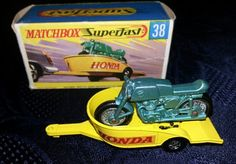 Matchbox Honda Trailer