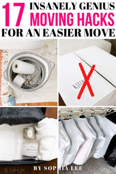 i am seriously obsessed with these moving hacks!! learned so much and will definitely be using these moving tips as i pack up my house