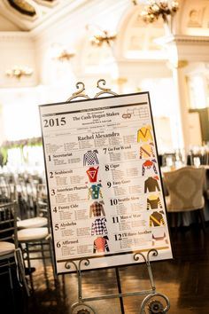 Racetrack inspired wedding ideas. Derby party ideas. Horse racing party. Saratoga Springs wedding