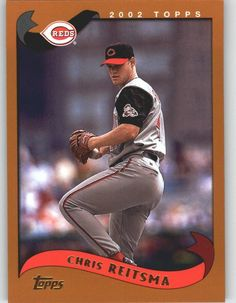 2002 Topps 63 Chris Reitsma - Cincinnati Reds (Baseball Cards) *** Visit the image link more details.