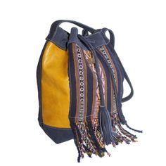 "MANTA ""RL"" Bucket Bag 2 Festival Style, Festival Looks, Festival Fashion, City Style, City Chic, Tomboy Chic, Boho Bags, Boho Look, Printed Bags"