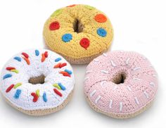 knitted doughnuts