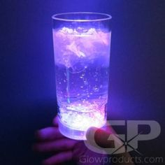 Bright glowing 12 oz drink glasses with 8 color modes! - https://glowproducts.com/us/light-up-tumbler-glasses-multicolor