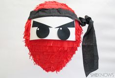 Ninja birthday party pinata