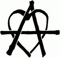 Símbolo anarcopunk Anarchopunk symbol Tattoos