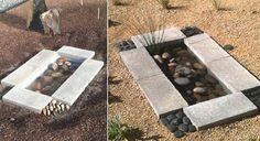 Comment fabriquer un jardin d'eau contemporain pour moins de 40$