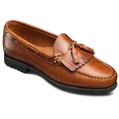 Factory 2nd - Nashua Tassel Loafers, 42252S English Tan Dublin Leather