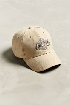 Slide View  1   47 Brand Los Angeles Lakers Clean Faux Suede Baseball Hat.   1481e630b7d