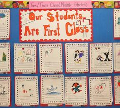 Having a Monthly Storyboard within the classroom is another method to increase motivation for literacy, specifically writing. In this case, the students have a monthly topic to write about. With this, the students have their writing posted within the classroom and strive to produce better writing each month. The educator can refer back to the students previous writing to motivate achievement.